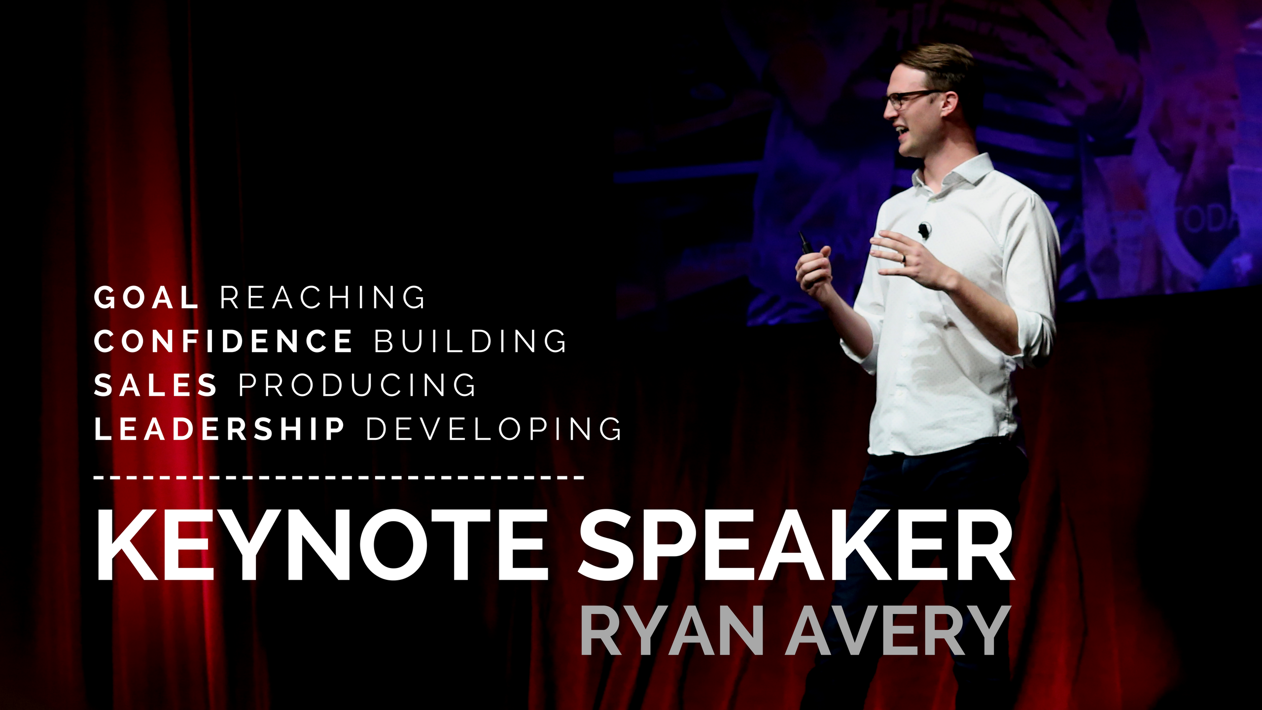 motivational keynote speaker ryan avery ryan avery