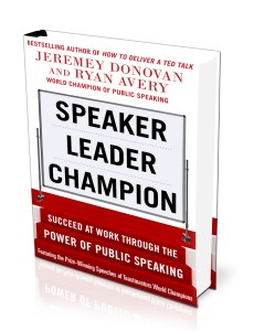 Speaker Leader Champion