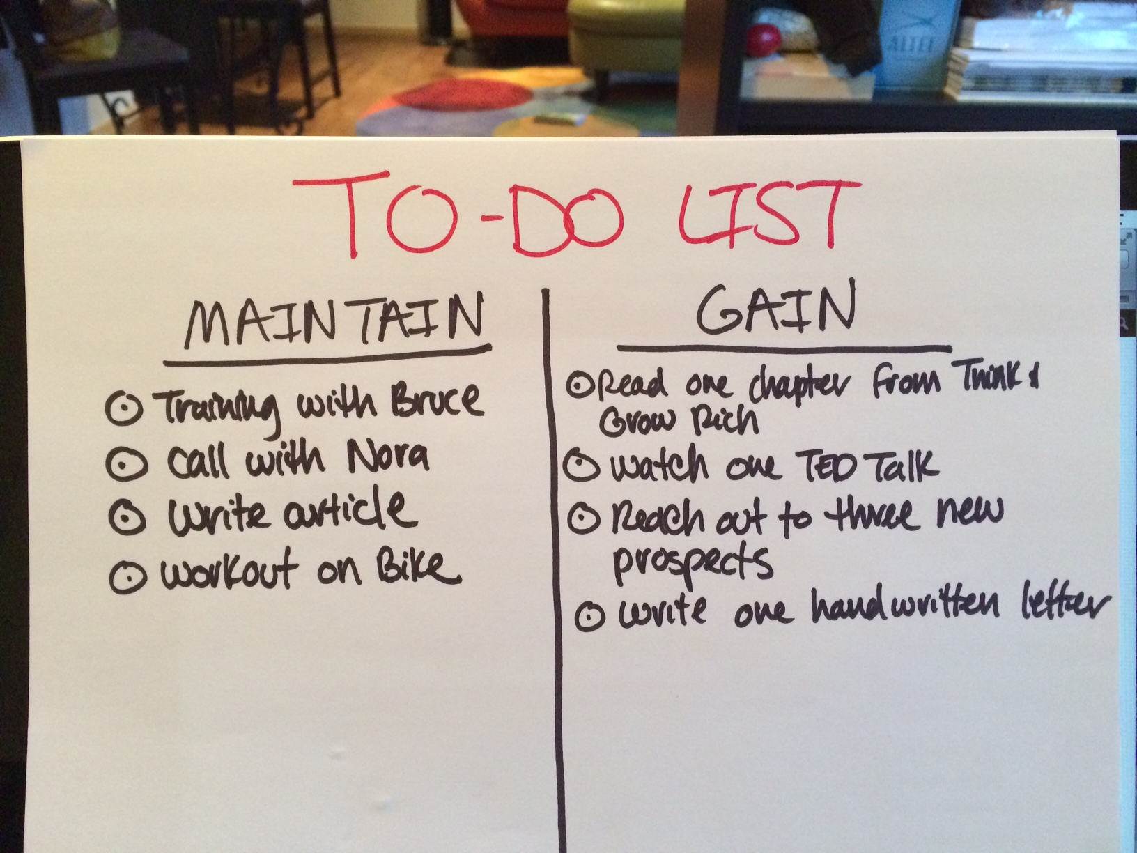 How to create a to-do list that works »