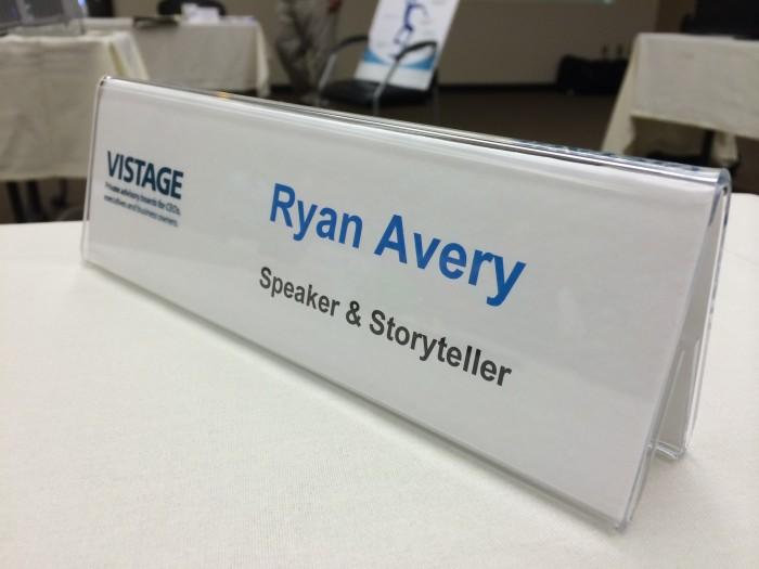 Ryan Avery Vistage Speaker
