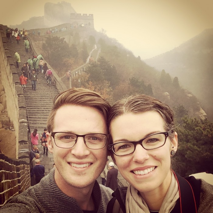 Ryan and Chelsea Avery in China